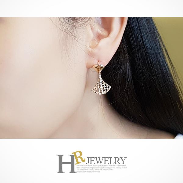 14K NO.3238 로망스 원터치 귀걸이